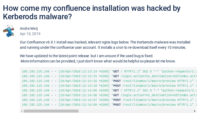 confluence hacked